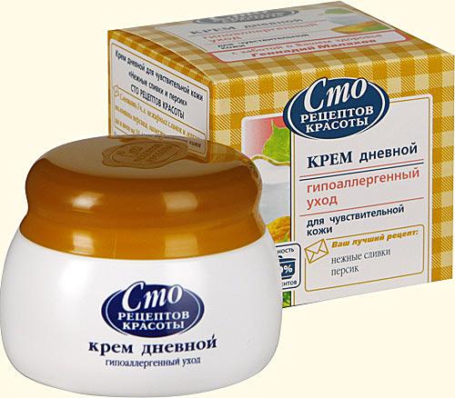 Рецепт крема для лица для чувствительной кожи