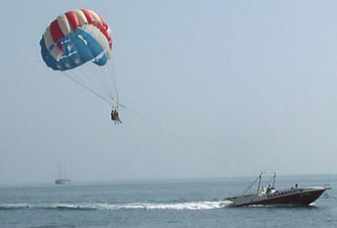 парашют за лодкой купить в