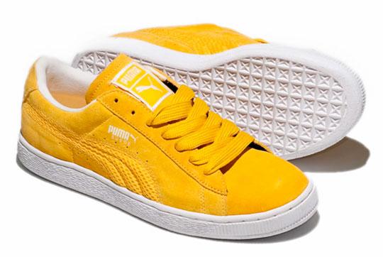 Yellow Puma Logo Yellow Puma Logo Puma Suede
