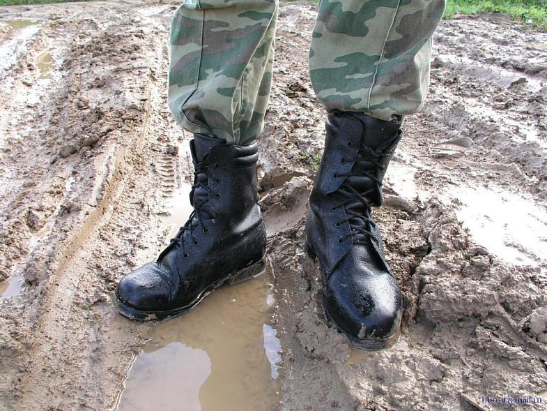 обувь в российской армии ТЕРМОБЕЛЬЕ может