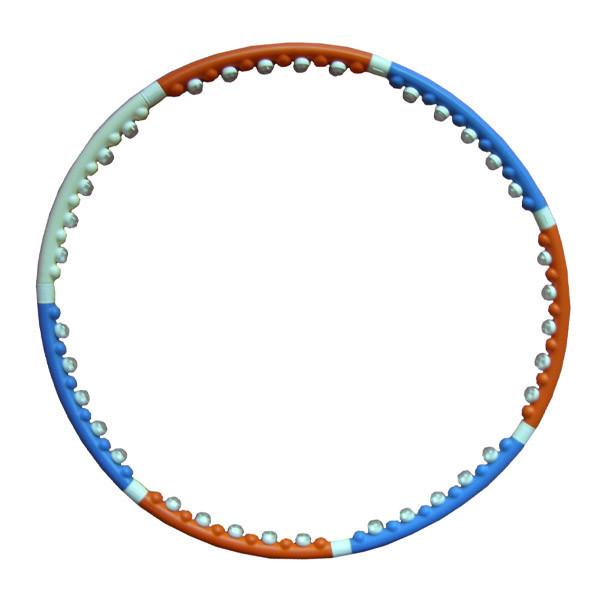 Массажный обруч hula hoop (хула хуп) 2, 3 кг dynamic (бесплатная доставка по минску) oбруч состоит из 8