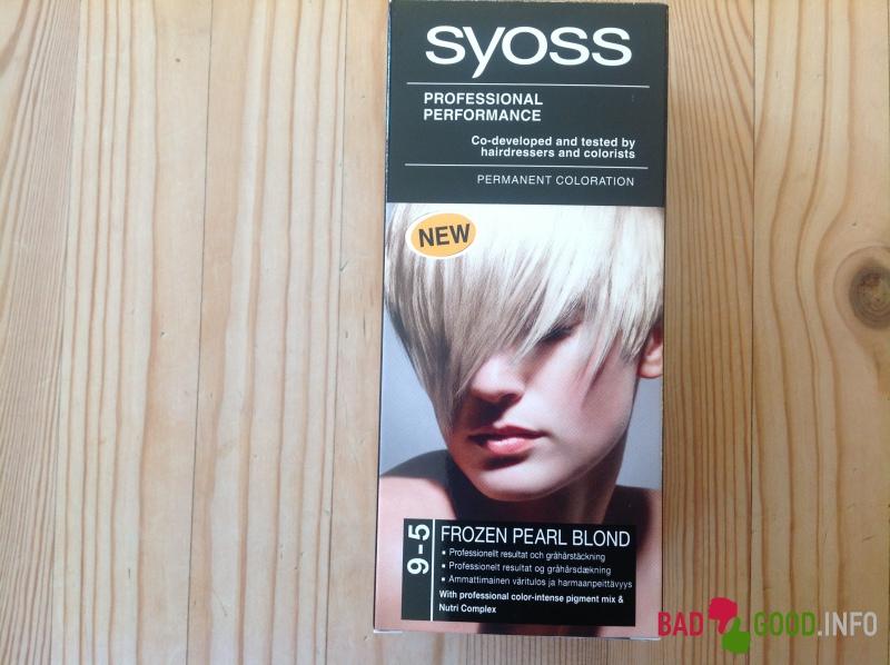 syoss hårfarge