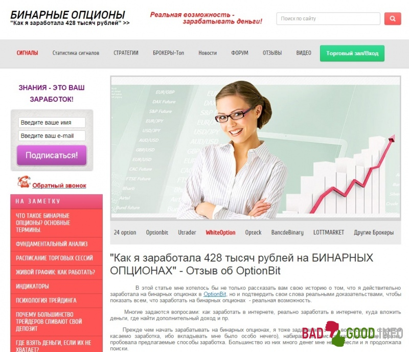 Анна Александровна Бинарные Опционы