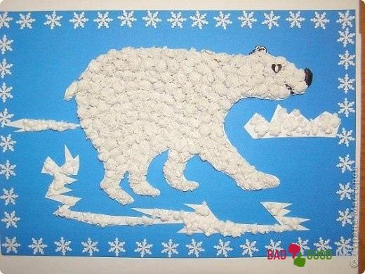 Поделка своими руками белый медведь